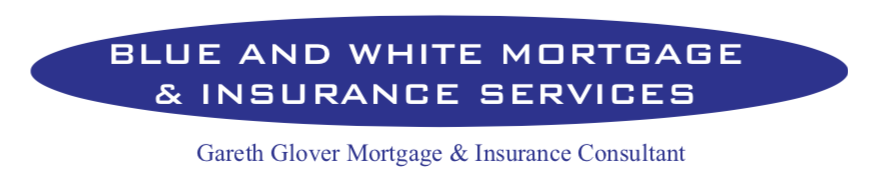 Blue and White Mortgage & Insurance Services